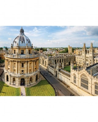 Puzzle Falcon - Radcliffe Camera, Oxford, 1.000 piese (Jumbo-11159)