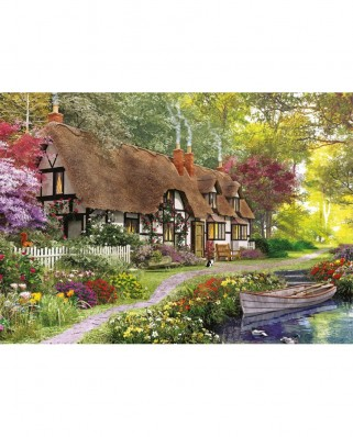 Puzzle Falcon - The Carpenter's Cottage, 1.000 piese (Jumbo-11170)