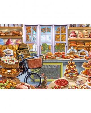 Puzzle Falcon - Steve Crisp: Bella's Bakery Shoppe, 1.000 piese (Jumbo-11203)