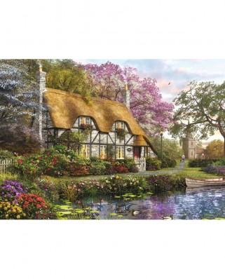 Puzzle Falcon - Dominic Davison: The Gardener's Cottage, 1.000 piese (Jumbo-11205)