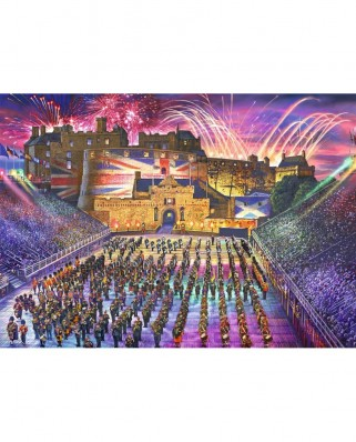 Puzzle Falcon - The Royal Edinburgh Military Tattoo, 1.000 piese (Jumbo-11220)