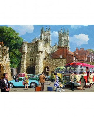 Puzzle Falcon - Arriving in York, 1.000 piese (Jumbo-11231)