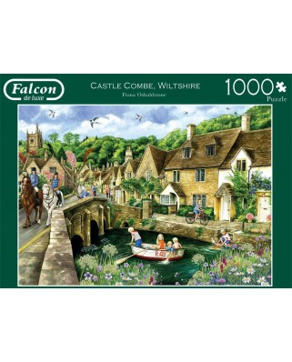 Puzzle Falcon - Castle Combe, Wiltshire, 1.000 piese (Jumbo-11233)