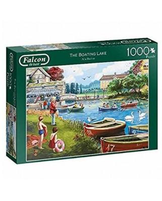 Puzzle Falcon - The Boating Lake, 1.000 piese (Jumbo-11252)