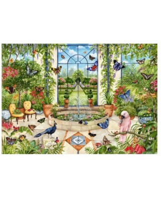 Puzzle Falcon - Butterfly Conservatory, 1.000 piese (Jumbo-11255)
