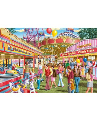 Puzzle Falcon - Fun at the fair, 1500 piese (Jumbo-11259)
