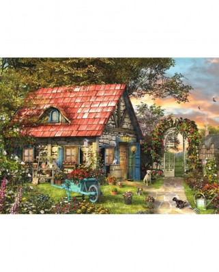 Puzzle Jumbo - Garden Shed, 500 piese XXL (18529)