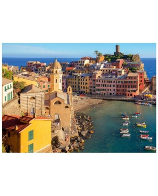 Puzzle Jumbo - Vernazza, Cinque Terre, 500 piese (18806)