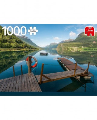 Puzzle Jumbo - Styrn, Norway, 1.000 piese (18811)