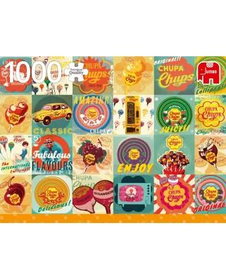 Puzzle Jumbo - Chupa Chups Vintage, 1.000 piese (18820)