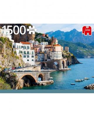 Puzzle Jumbo - Amalfi Coast, Italy, 1500 piese (18828)