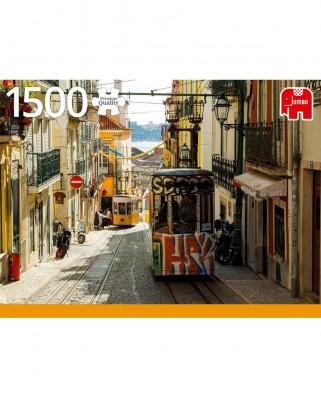 Puzzle Jumbo - Lisboa, Portugal, 1500 piese (18829)