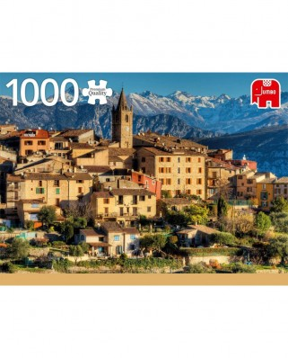 Puzzle Jumbo - Alps Near Cote d'Azur, 1.000 piese (18831)