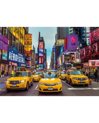 Puzzle Jumbo - New York Taxis, 3.000 piese (18832)