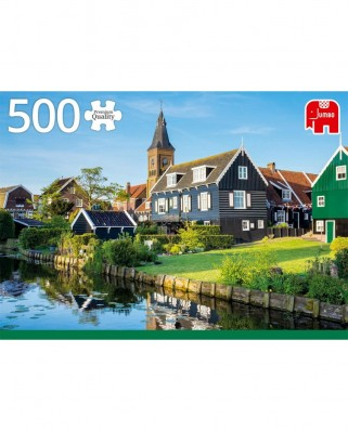 Puzzle Jumbo - Marken, The Netherlands, 500 piese (18834)