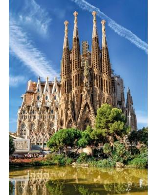 Puzzle Jumbo - Sagrada Familia, Barcelona, 1000 piese (18835)