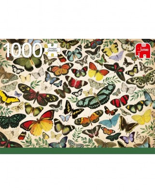 Puzzle Jumbo - Butterfly Poster, 1.000 piese (18842)
