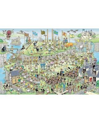 Puzzle Jumbo - Jan Van Haasteren: Highland Games, 1500 piese (19088)