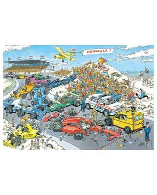Puzzle Jumbo - Jan Van Haasteren: Formula 1, 2000 piese (19097)
