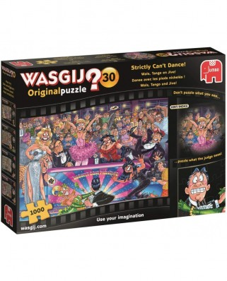 Puzzle Jumbo - Wasgij Original 30 - Strictly Can't Dance, 1000 piese (19160)