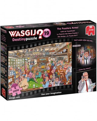 Puzzle Jumbo - Wasgij Destiny 19 - The Puzzlers Arms, 1000 piese (19166)