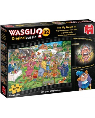 Puzzle Jumbo - Wasgij 32 - The Big Weight In!, 1000 piese (19170)