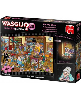 Puzzle Jumbo - Wasgij Destiny 20 - The Toy Shop!, 1000 piese (19171)
