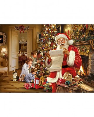 Puzzle King - Christmas Santa List, 1.000 piese (05767)