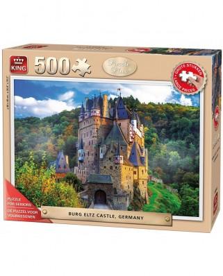 Puzzle King - Burg Eltz Castle, 500 piese XXL (55844)