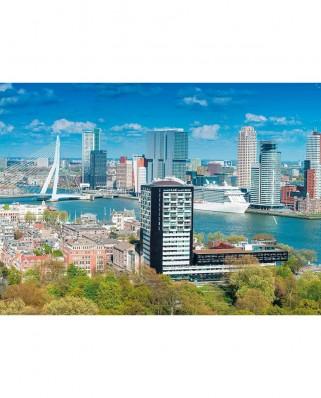 Puzzle King - Skyline Rotterdam, 1.000 piese (55868)