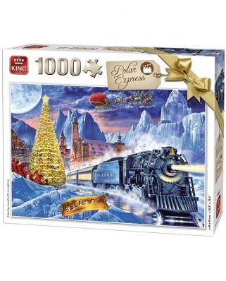 Puzzle King - Polar Express, 1.000 piese (55872)