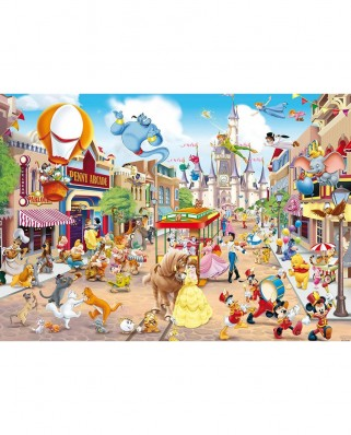Puzzle King - Disneyland, 1.000 piese (55886)