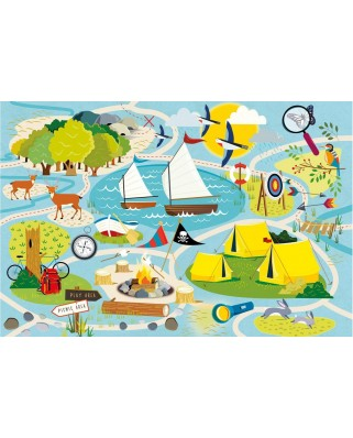 Puzzle Gibsons - Camp Gibsons, 36 piese (G1031)