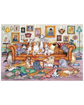 Puzzle Gibsons - Barker-Scratchits, 500 piese (G3118)