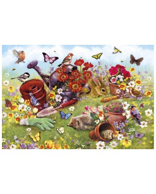 Puzzle Gibsons - In The Garden, 500 piese (G3122)