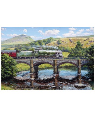 Puzzle Gibsons - Stephen Warnes: Crossing The Ribble, 500 piese (G3417)