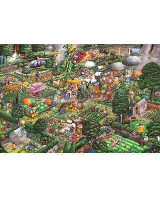 Puzzle Gibsons - Mike Jupp: I Love Gardening, 500 piese (G3421)
