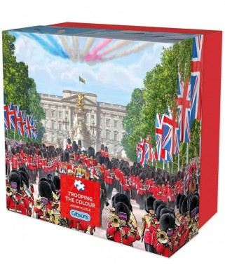 Puzzle Gibsons - Trooping the Colour, 500 piese (G3427)
