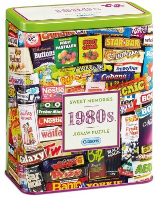 Puzzle Gibsons - 1980s Sweet Memories, 500 piese (G3833)