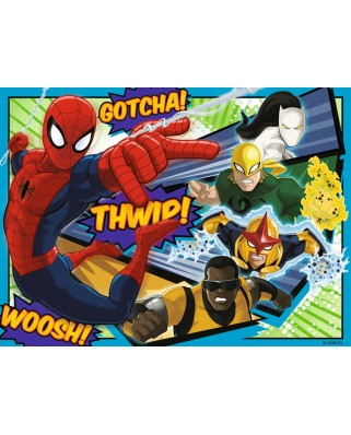 Puzzle Ravensburger - Spiderman, 12/16/20/24 piese (07363)