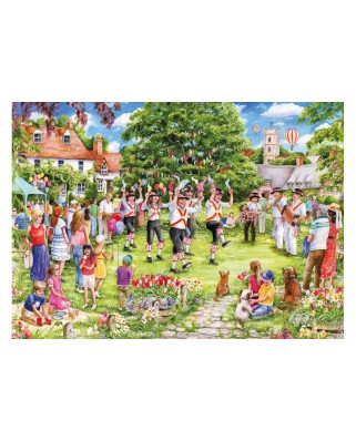 Puzzle Gibsons - Debie Cook - The Country Dance, 1.000 piese (G6246)