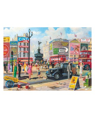 Puzzle Gibsons - Derek Roberts: Piccadilly, 1.000 piese (G6256)