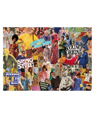 Puzzle Gibsons - Vintage Fashion, 1.000 piese (G7101)