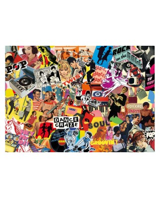 Puzzle Gibsons - Pop Culture, 1.000 piese (G7102)
