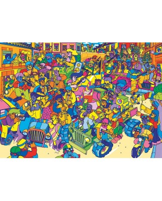 Puzzle Gibsons - Carnival, 1.000 piese dificile (G7205)