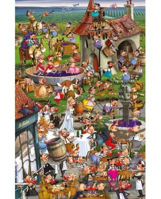 Puzzle Piatnik - Francois Ruyer: Wine, 1.000 piese (5352)