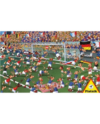 Puzzle Piatnik - Francois Ruyer: Football, 1.000 piese (5373)