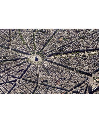 Puzzle Piatnik - Skyview Collection: Paris, view of the sky, 1.000 piese dificile (5376)