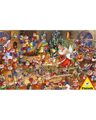 Puzzle Piatnik - Francois Ruyer: Christmas, 1.000 piese (5379)