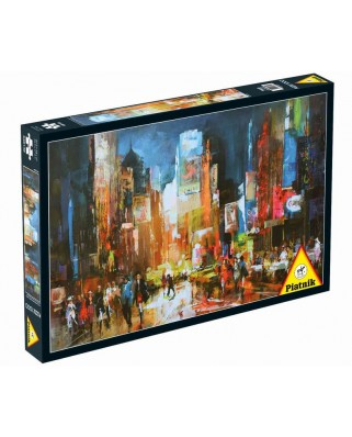 Puzzle Piatnik - USA, New-York: Times Square, 1.000 piese (5381)